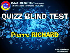 20 Questions sur  Pierre RICHARD